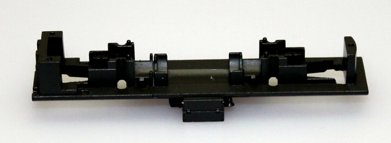 Loco Chassis Frame - Green Olive(N Scale S4) - Click Image to Close