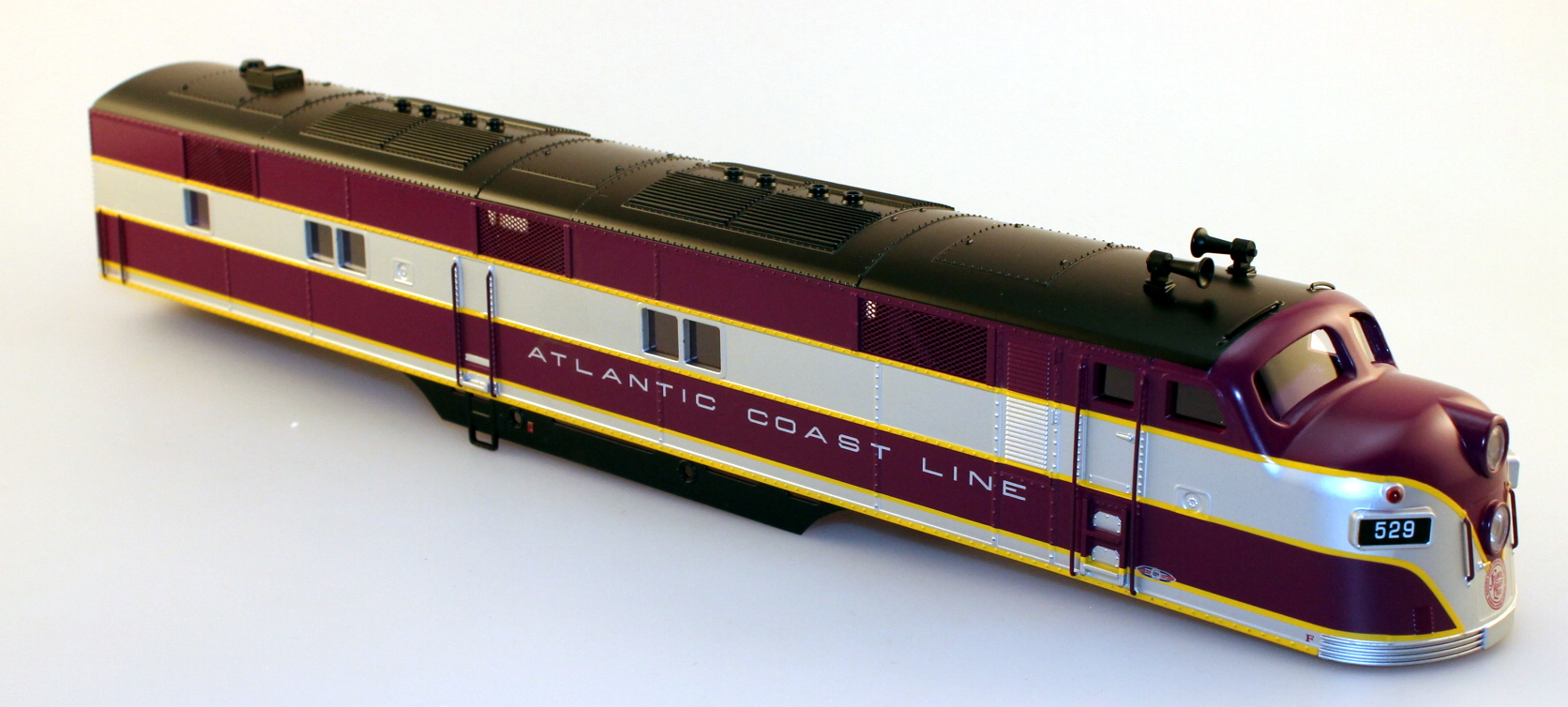 Body Shell - Atlantic Coast Line #529 (O Scale E7-A)
