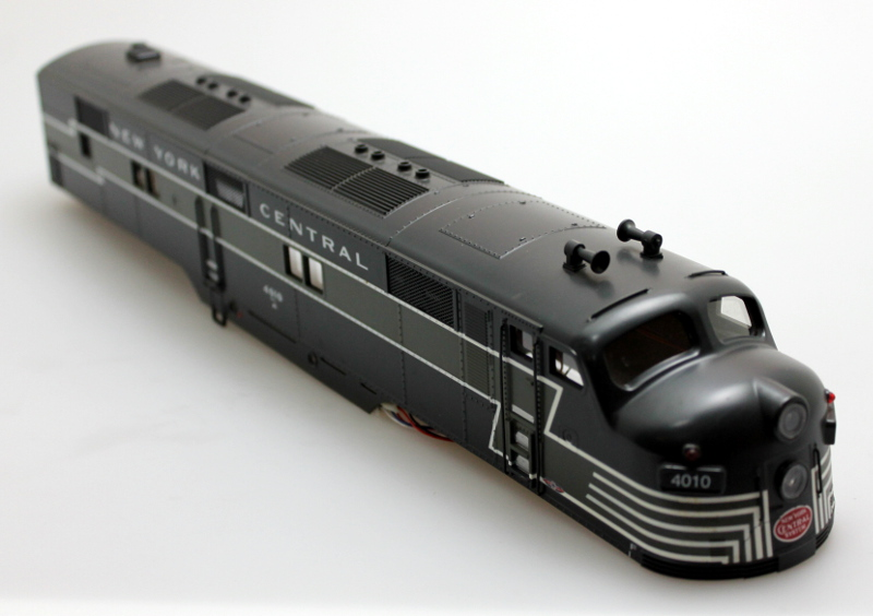 Body Shell - NYC (O Scale E7-A)