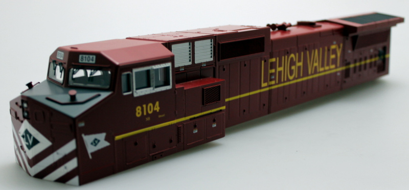 Body Shell- Lehigh Valley #8104 (O Scale Dash 9)