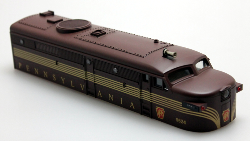 Shell - Pennsylvania #9624 (0-27 Scale FA2)