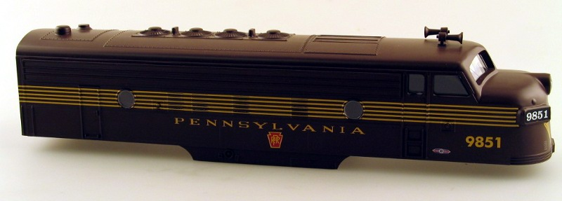 Body Shell - PRR #9851(O Scale F7 A)