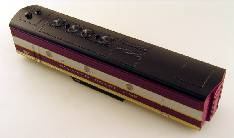 Body Shell - Atlantic Coast Line (O Scale F7-B)