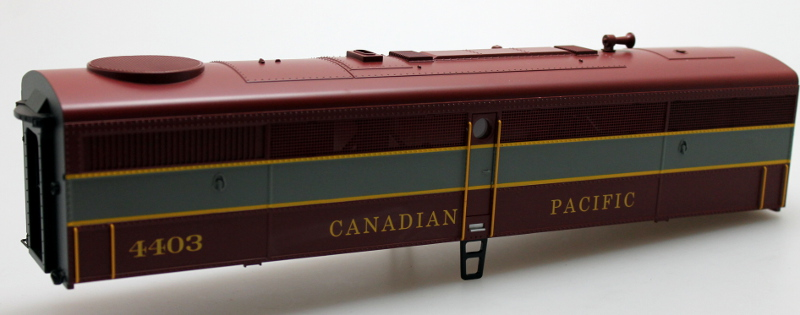 Body Shell - Candaian Pacific #4403 (O Scale FB-1)