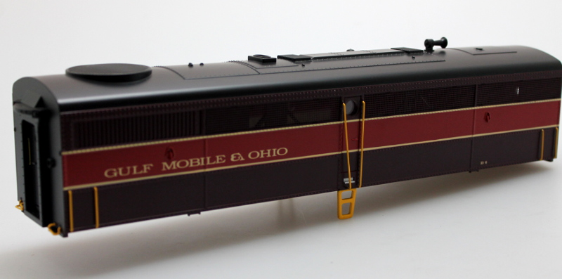 Body Shell - Guf Mobile & Ohio #B4 (O Scale FB-1)