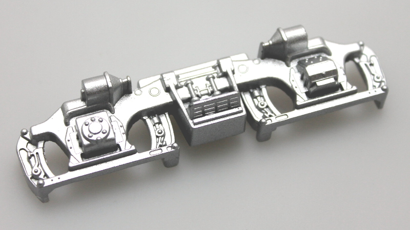 Sideframe - Silver (O Scale Universal)
