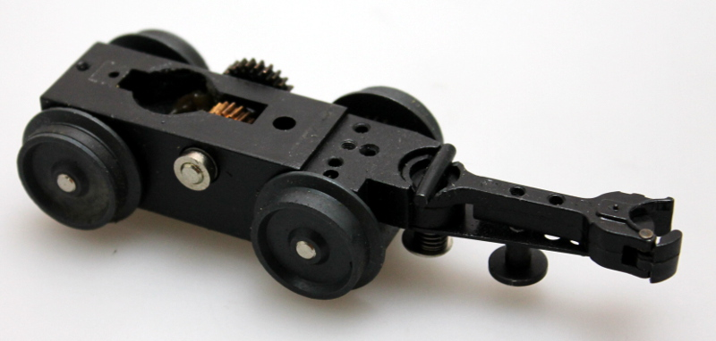 4 Wheel Geared Truck w/ Coupler (O Universal)