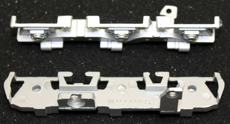 Sideframe Pair (L&R) - Silver (O Universal)