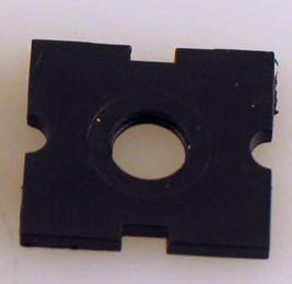 Bottom Insulator for Roller Pickup (O Scale Universal)