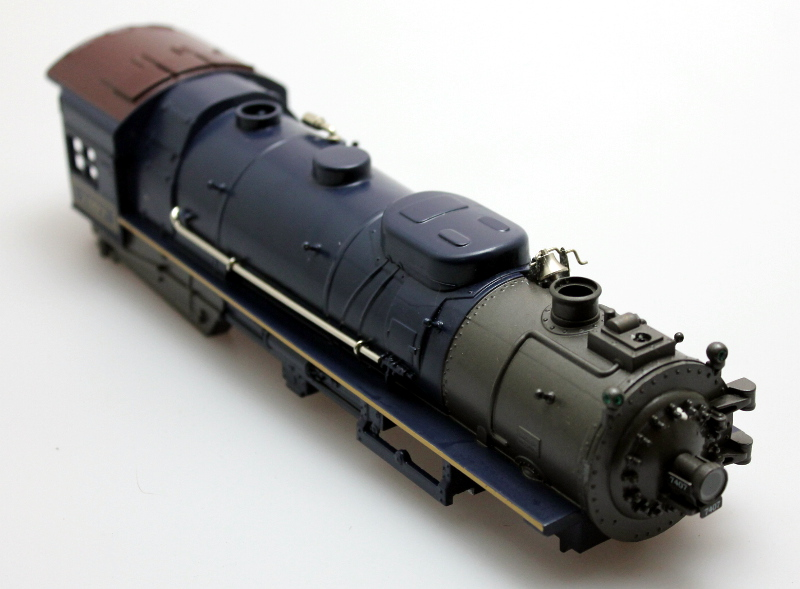 Loco Shell - Baltimore & Ohio #7407 (O Semi Scale Hudson)