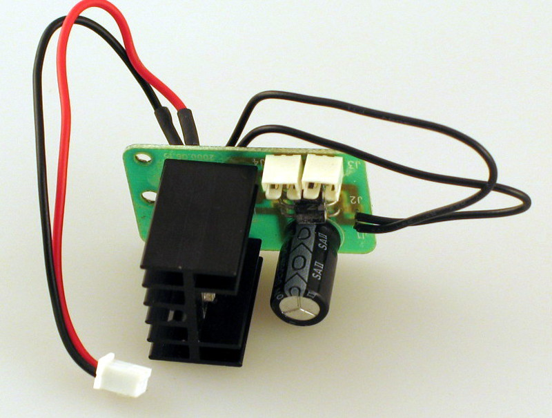 Voltage Regulator Board (O Scale Steam)