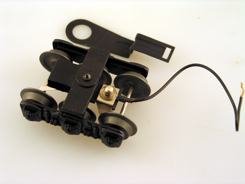 Tender Truck w/ Drawbar - Front (O Scale Steam)