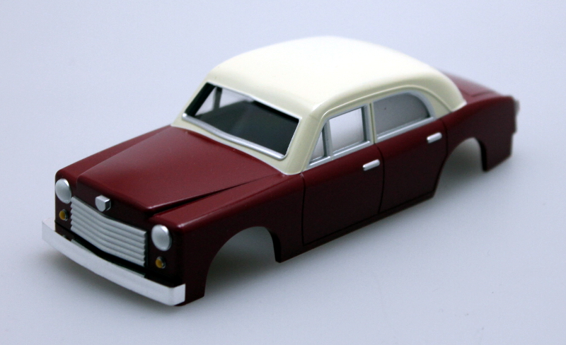 Shell - Maroon Sedan (O Scale E-Z Street)