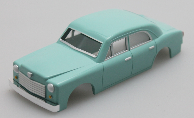 Shell - Seamist Green Sedan (O Scale E-Z Street)