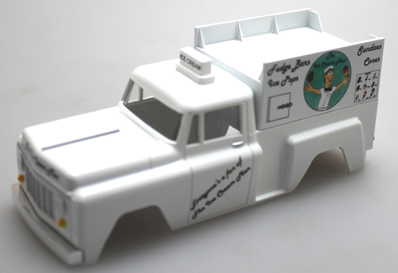 Shell - Ice Cream Truck (O Scale EZ Street)