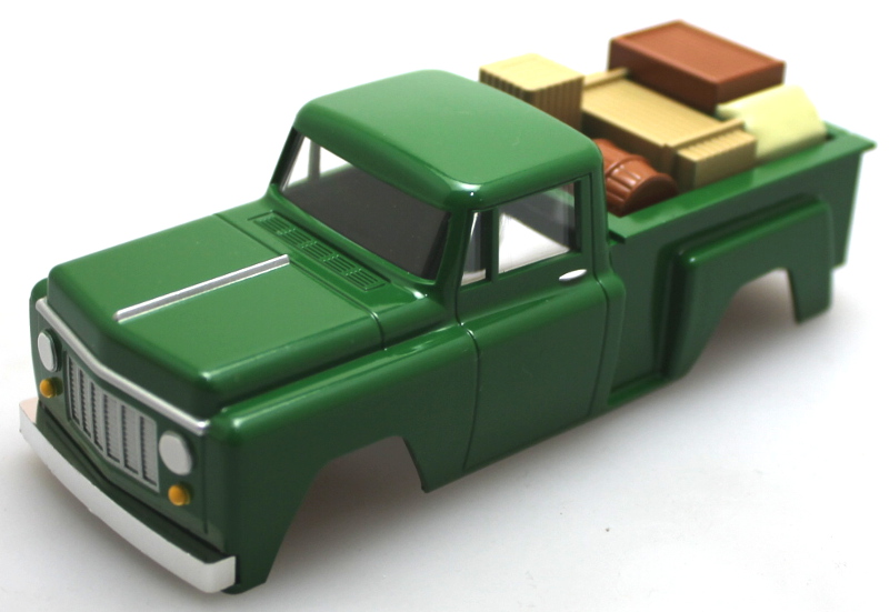 Shell - Pickup Truck Green (O Scale EZ Street)