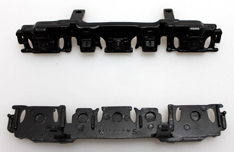 Sideframe Set (L&R) - Black (O Scale E7)