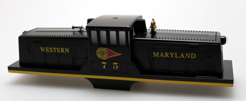 Body Shell w/ Sound Unit-Western Maryland #75 (O Scale 44 Ton)