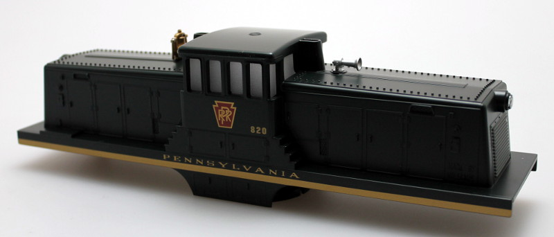 Body Shell w/ Sound Unit- PRR #820 (O Scale 44 Ton)