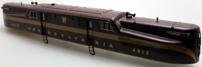 Shell - Pennsylvania Tuscan 5 Stripe (O GG-1 Scale)