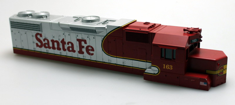 Shell - Santa Fe #161 (O Scale GP-38)