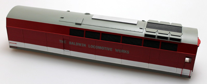Body shell - Baldwin (O Scale Shark B)