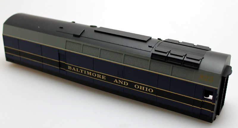 Body shell - Baltimore&Ohio #825 (O Scale Shark B)