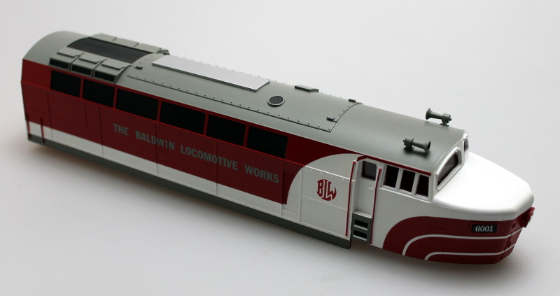 Loco Shell - Baldwin #6001 (O Scale Shark A)