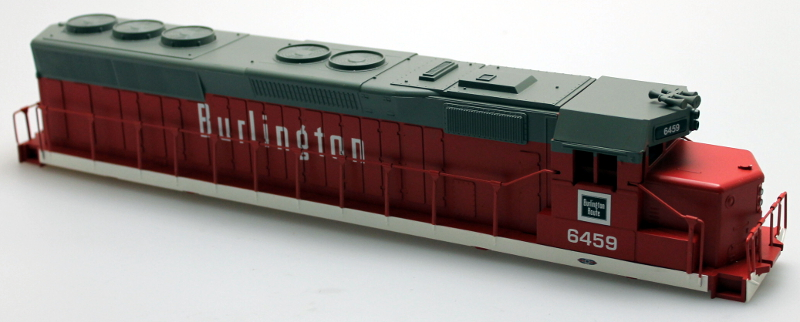 Body Shell - Burlington #6459 (O SD-45)