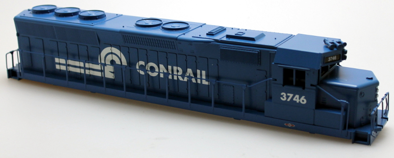 Body Shell - Conrail #3746 (O SD-45)