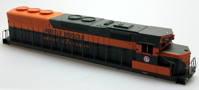 Body Shell - Great Northern #419 (O SD-45)