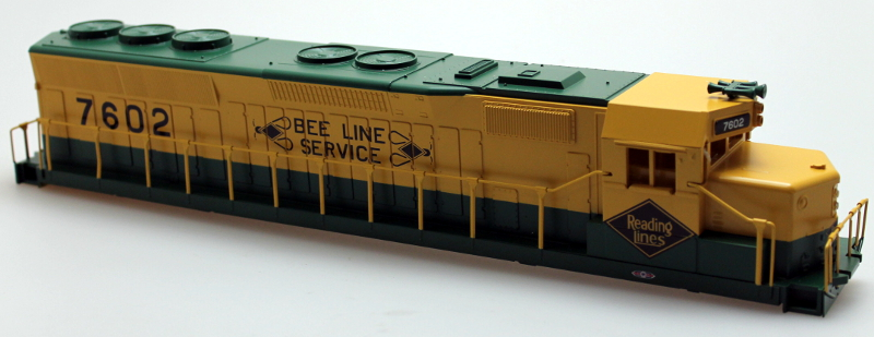 Body Shell - Reading #7602 (O SD-45)