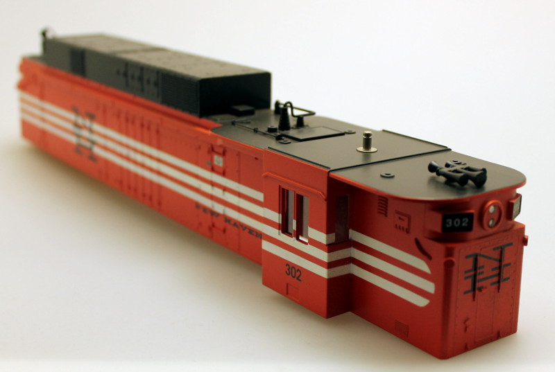 Body Shell - New Haven #302 (O Scale EF-4)