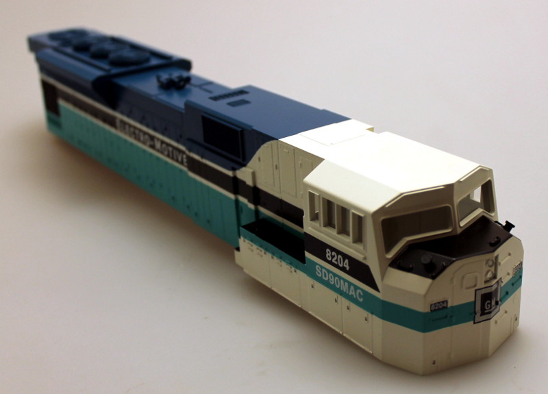 Body Shell - GM Demonstrator #8204 (O Scale SD-90)