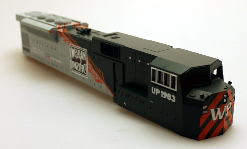 Body Shell - Western Pacific (O Scale SD-90)
