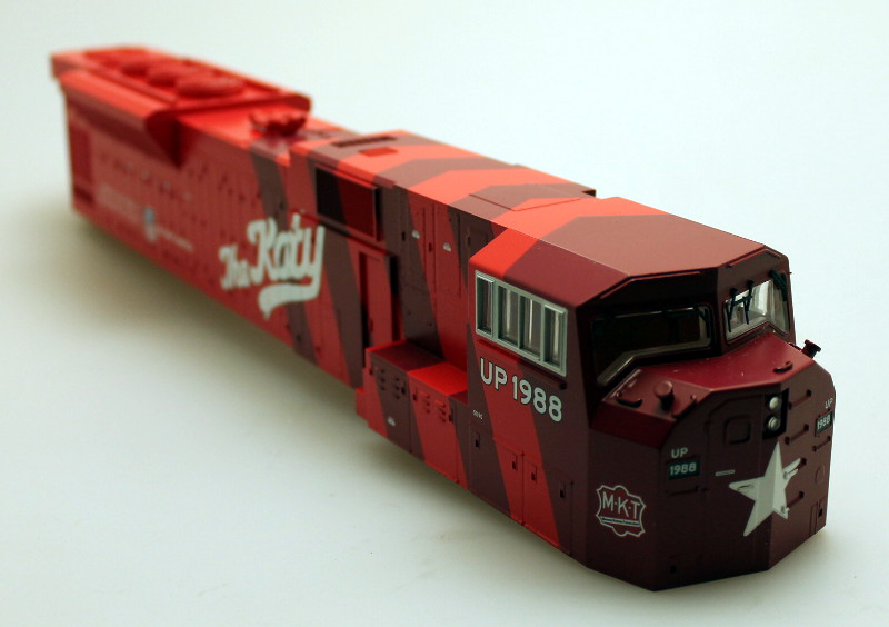"Body Shell - MKT ""The Katy"" (O Scale SD-90)"