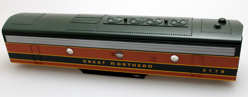 Body Shell - Great Northern #317B (O Scale F7-B)
