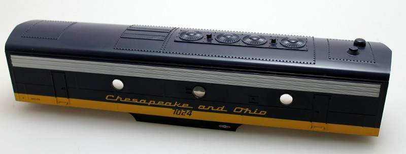 Body Shell - Chesapeake&Ohio #7024 (O Scale F7-B)