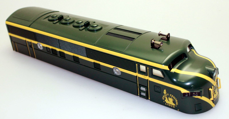 Body Shell - Jersey Central #5156 (O Scale F3-A)