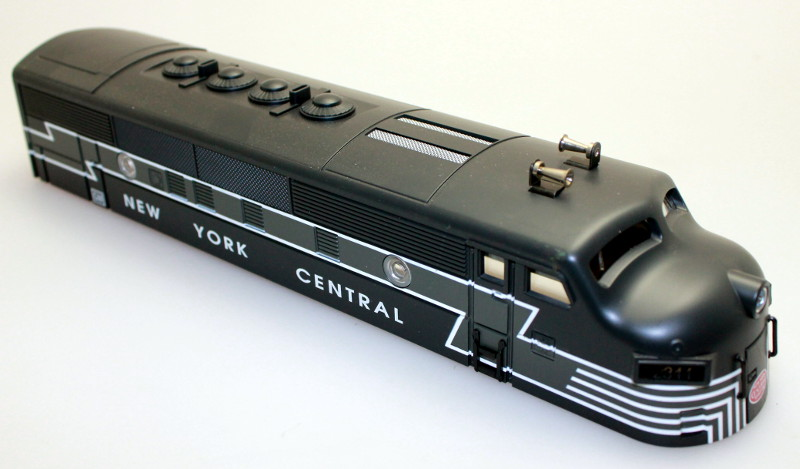 Body Shell - NYC #2344 (O Scale F3-A)