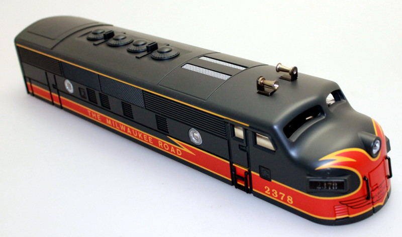 Body Shell - Milwaukee Road #2378 (O Scale F3-A)