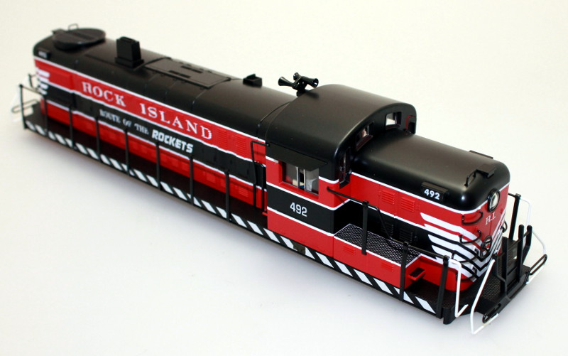 Body Shell - Rock Island #492 (O Scale RS-3)