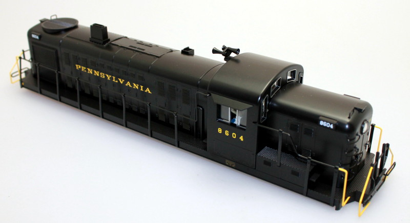 Body Shell - PRR #8604 (O Scale RS-3)