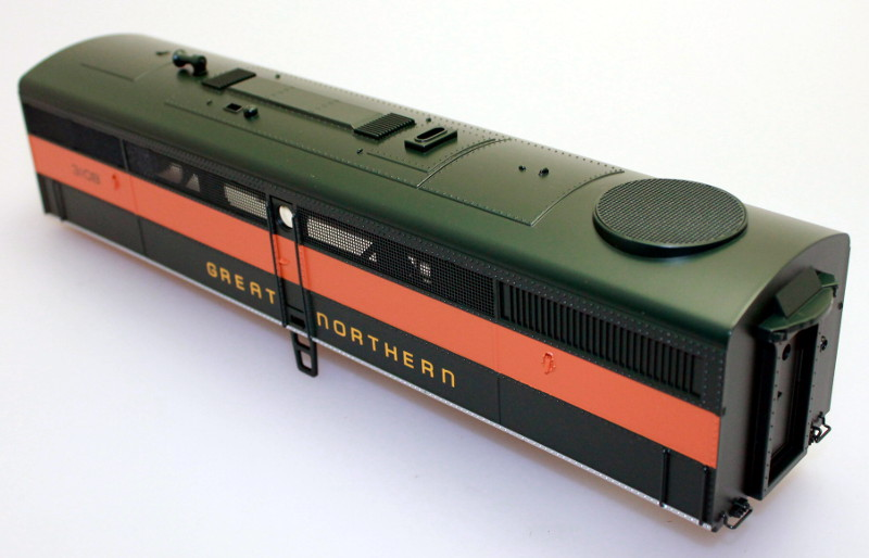 Body Shell - Great Northern #310B (O Scale FB-1)