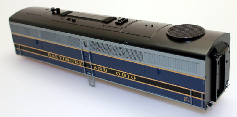 Body Shell - Baltimore & Ohio #847 (O Scale FB-1)