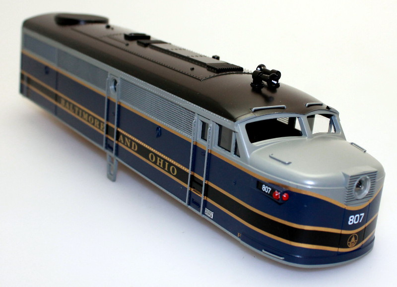 Body Shell-Baltimore&Ohio #807 (O Scale FA-1)