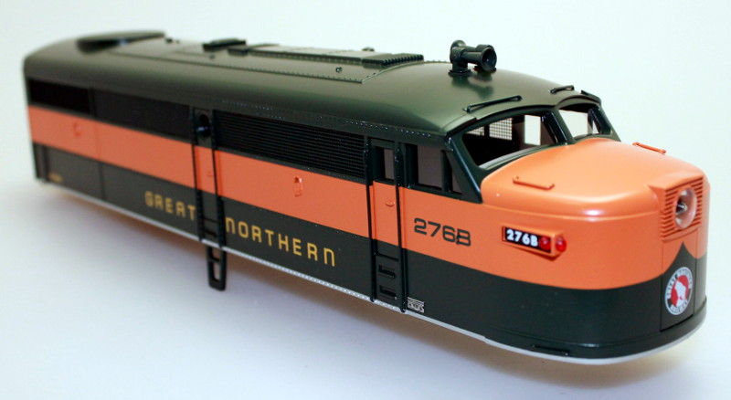 Body Shell-Great Northern #276B (O Scale FA-1)