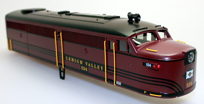Body Shell-Lehigh Valley #534 (O Scale FA-1)