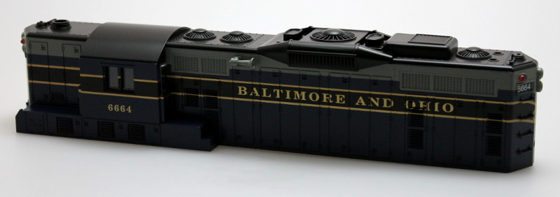 Body Shell-Baltimore & Ohio #6664 (O Scale GP9)