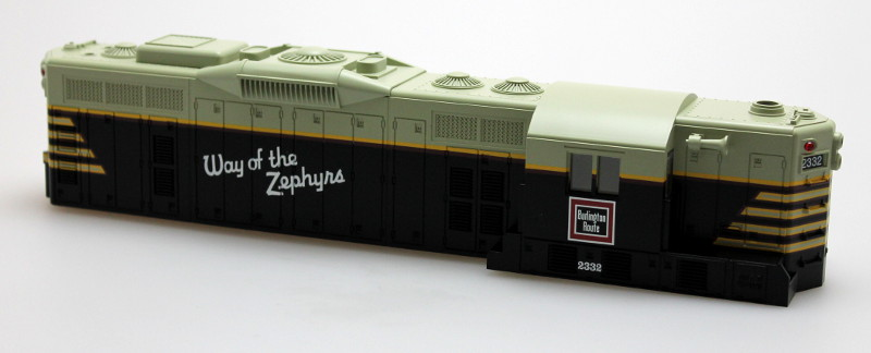 Body Shell-Burlington #2332 (O Scale GP9)